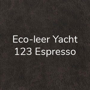 Eco-leer Yacht Espresso 123