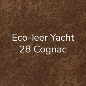 Eco-leer Yacht Cognac 28