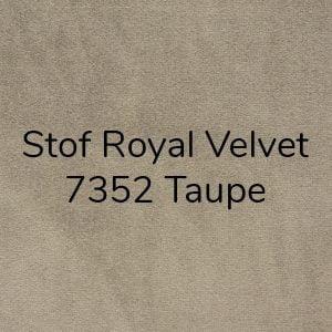 Stof Royal Velvet 7352 Taupe