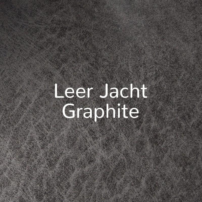 Eco-leer Jacht Graphite