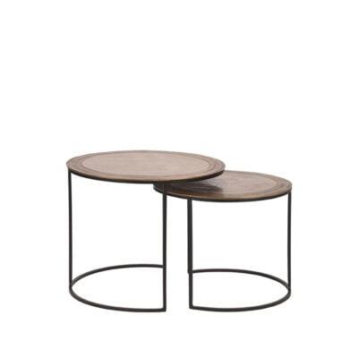LABEL51 - Salontafel Set Circle 55 cm