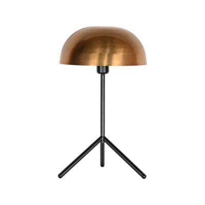 LABEL51 tafellamp globe antiek goud metaal 31x31x51 cm voorkant