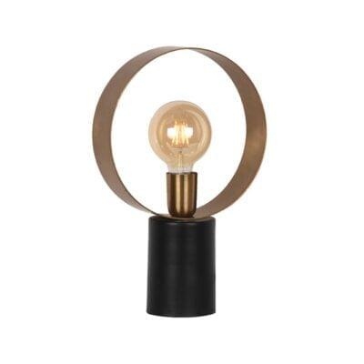 LABEL51 tafellamp ray antiek goud metaal 26x10x40 cm perspectief
